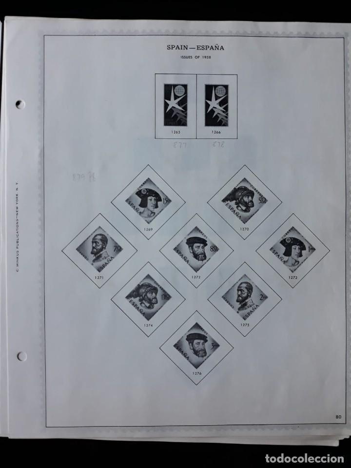 Sellos: HOJAS ESPAÑA PREIMPRESAS 1955 - 1962 MARCA MINKUS NEW YORK - Foto 6 - 137648098