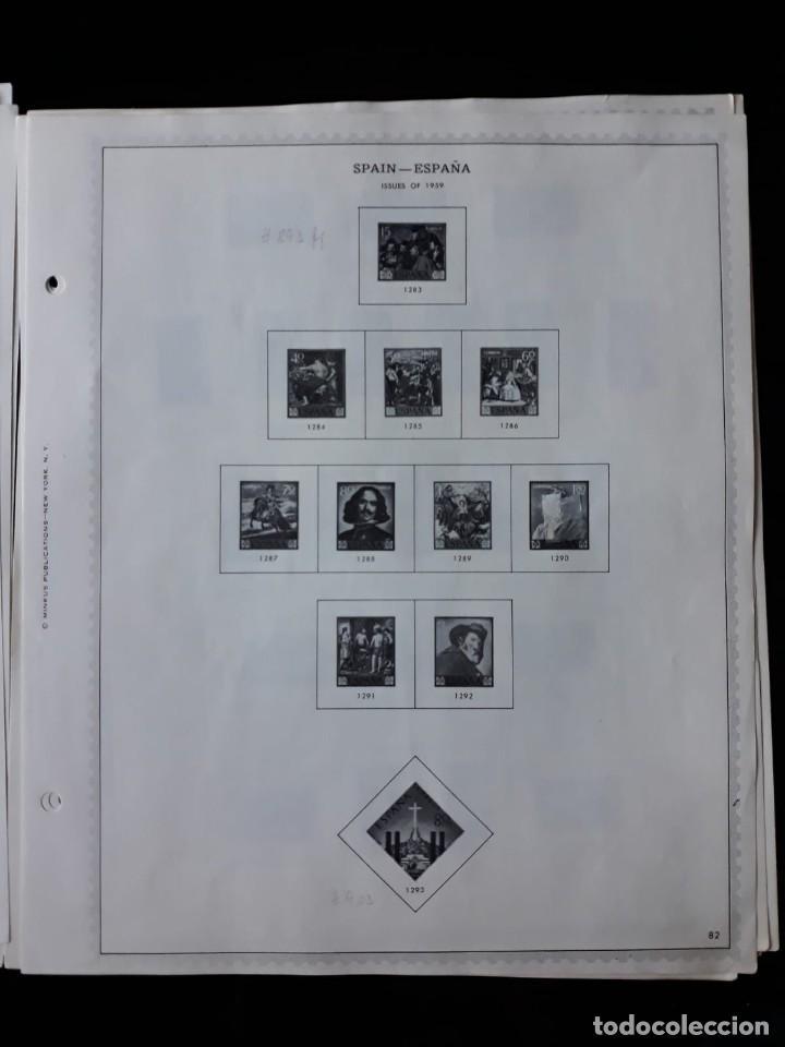 Sellos: HOJAS ESPAÑA PREIMPRESAS 1955 - 1962 MARCA MINKUS NEW YORK - Foto 7 - 137648098