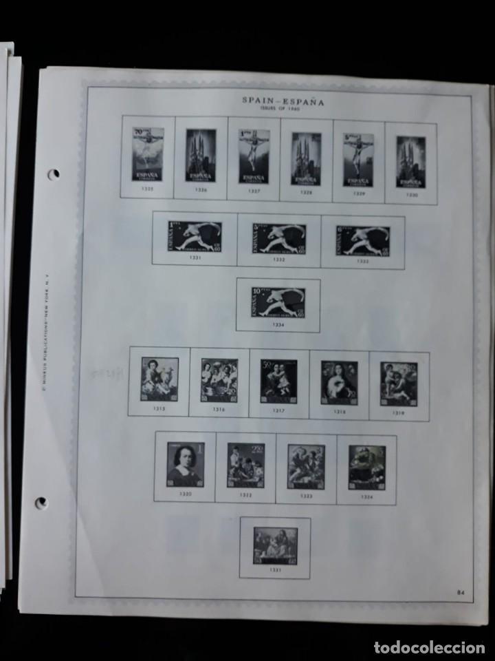 Sellos: HOJAS ESPAÑA PREIMPRESAS 1955 - 1962 MARCA MINKUS NEW YORK - Foto 9 - 137648098