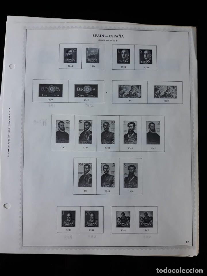 Sellos: HOJAS ESPAÑA PREIMPRESAS 1955 - 1962 MARCA MINKUS NEW YORK - Foto 10 - 137648098