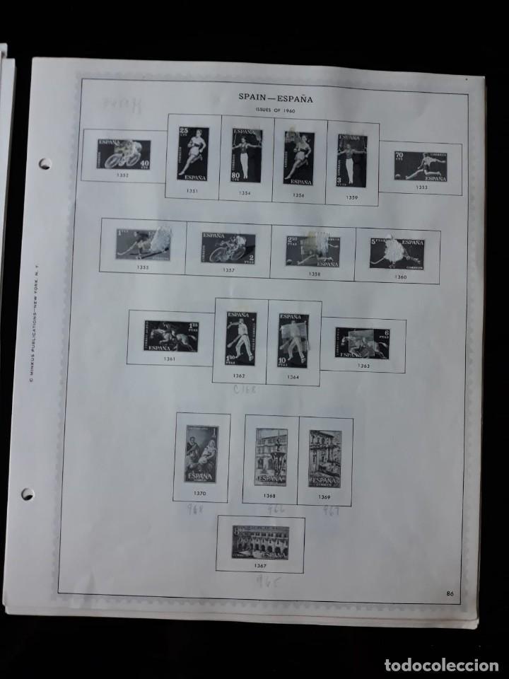 Sellos: HOJAS ESPAÑA PREIMPRESAS 1955 - 1962 MARCA MINKUS NEW YORK - Foto 11 - 137648098