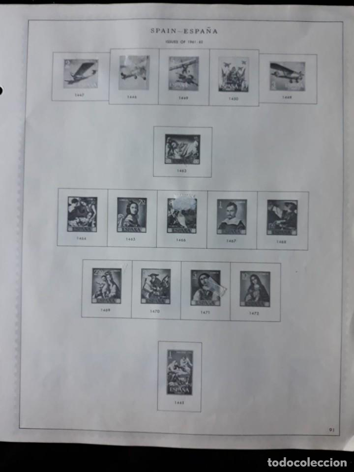 Sellos: HOJAS ESPAÑA PREIMPRESAS 1955 - 1962 MARCA MINKUS NEW YORK - Foto 15 - 137648098