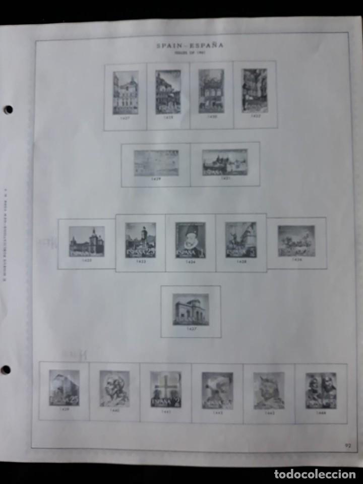 Sellos: HOJAS ESPAÑA PREIMPRESAS 1955 - 1962 MARCA MINKUS NEW YORK - Foto 16 - 137648098