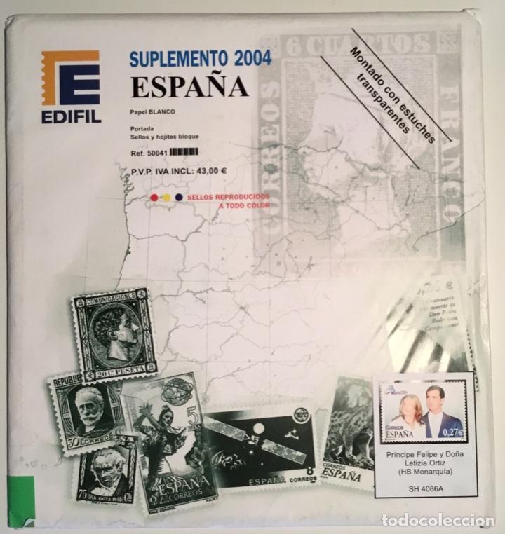 2004 ESPAÑA HOJAS EDIFIL 2004 FILOESTUCHE TRANSPARENTE - NUEVAS - (Sellos - Material Filatélico - Hojas)