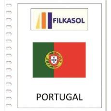 Sellos: SUPLEMENTO FILKASOL PORTUGAL 2018 (COMPLETE YEAR) - MONTADO HAWID TRANSPARENTES. Lote 141164410