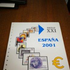 Sellos: HOJAS ANFIL AÑO 2001 COMPLETO. Lote 142563230