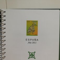 Sellos: HOJAS AGUILAR AÑO 2011 COMPLETO. Lote 156873172