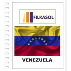 Francobolli: SUPLEMENTO FILKASOL VENEZUELA 2012-18 + FILOESTUCHES HAWID TRANSPARENTES. Lote 157297586