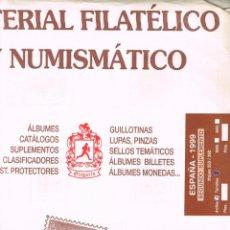 Sellos: HOJAS OLEGARIO AÑO 1999 - SEGUNDO SUPLEMENTO. MONTADAS CON ESTUCHES TRASPARENTES PARCIALMENTE. Lote 157379694