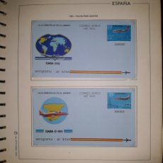 Selos: HOJA N°3 SOBRES ENTERO POSTAL AEROGRAMAS 1983. Lote 157929088