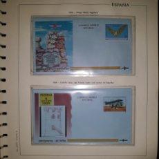 Sellos: HOJA N°10 SOBRES ENTERO POSTAL AEROGRAMAS 1993/94. Lote 157931458