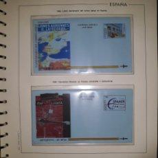 Sellos: HOJA N°11 SOBRES ENTERO POSTAL AEROGRAMAS 1995/96. Lote 157931764