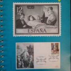 Sellos: HOJA N°102 ÁLBUM TEMÁTICO CARIDAD EN ESPAÑA ÁVILA 1990. Lote 158886541