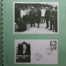 Sellos: HOJA N°96 ALBUM TEMÁTICO VICTORIA KENT MALAGA 1990. Lote 158887473