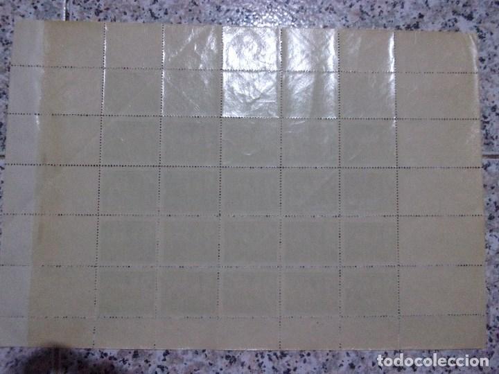 Sellos: PLANCHA DE 25 SELLOS - HUERFANOS DE CORREOS DE 5 CTS. - Foto 2 - 160575582