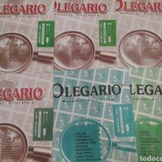 Sellos: LOTE DE HOJAS ÁLBUM OLEGARIO GUINEA ECUATORIAL. Lote 171128287