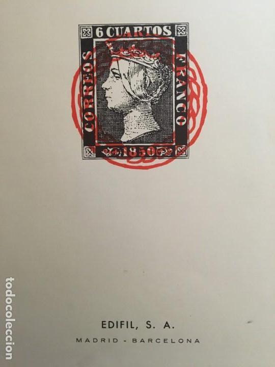 1850 - 1955, COLECCIÓN COMPLETA DE HOJAS EDIFIL. (Sellos - Material Filatélico - Hojas)