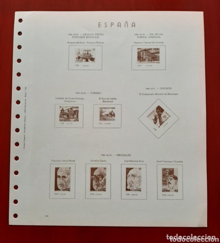 Sellos: HOJAS PARA SELLOS OLEGARIO ESPAÑA 1981-1986 NUEVAS - Foto 2 - 173452442