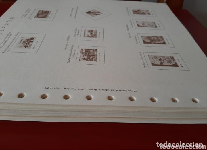 Sellos: HOJAS PARA SELLOS OLEGARIO ESPAÑA 1981-1986 NUEVAS - Foto 3 - 173452442