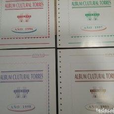 Sellos: BLOQUE HOJAS TORRES ESPAÑA 1996 AL 1999 SIN ESTUCHES. Lote 174254255