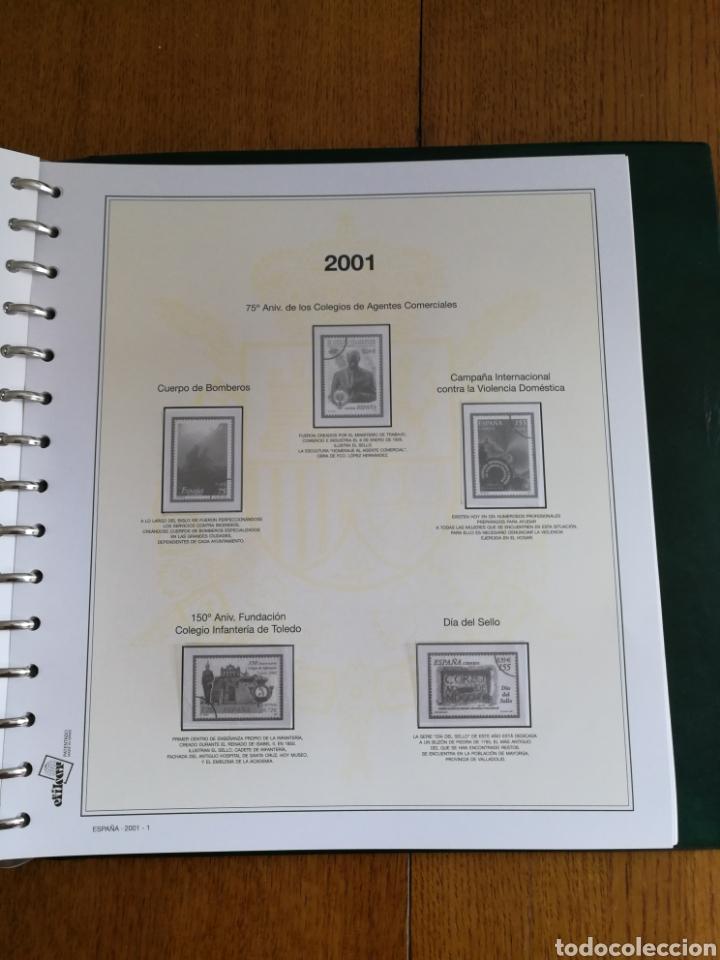 Sellos: MATERIAL FILATELICO : HOJAS EFILCAR AÑO 2001 COMPLETO (LEER DESCRIPCIÓN) - Foto 2 - 175208033