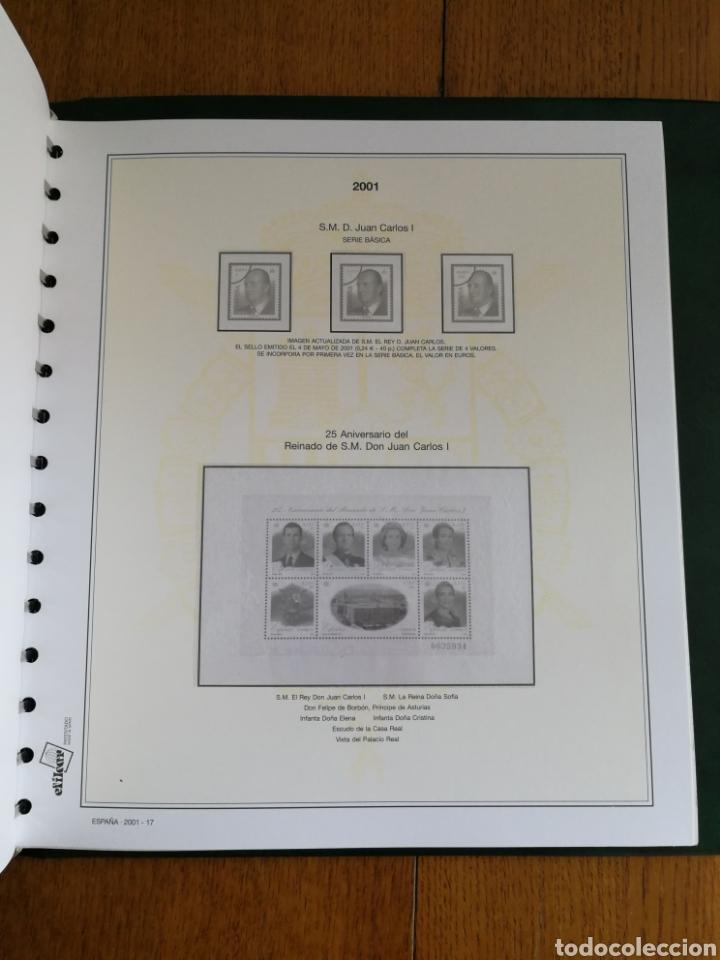Sellos: MATERIAL FILATELICO : HOJAS EFILCAR AÑO 2001 COMPLETO (LEER DESCRIPCIÓN) - Foto 3 - 175208033