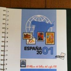 Sellos: MATERIAL FILATELICO : HOJAS EFILCAR AÑO 2001 COMPLETO (LEER DESCRIPCIÓN). Lote 175208033