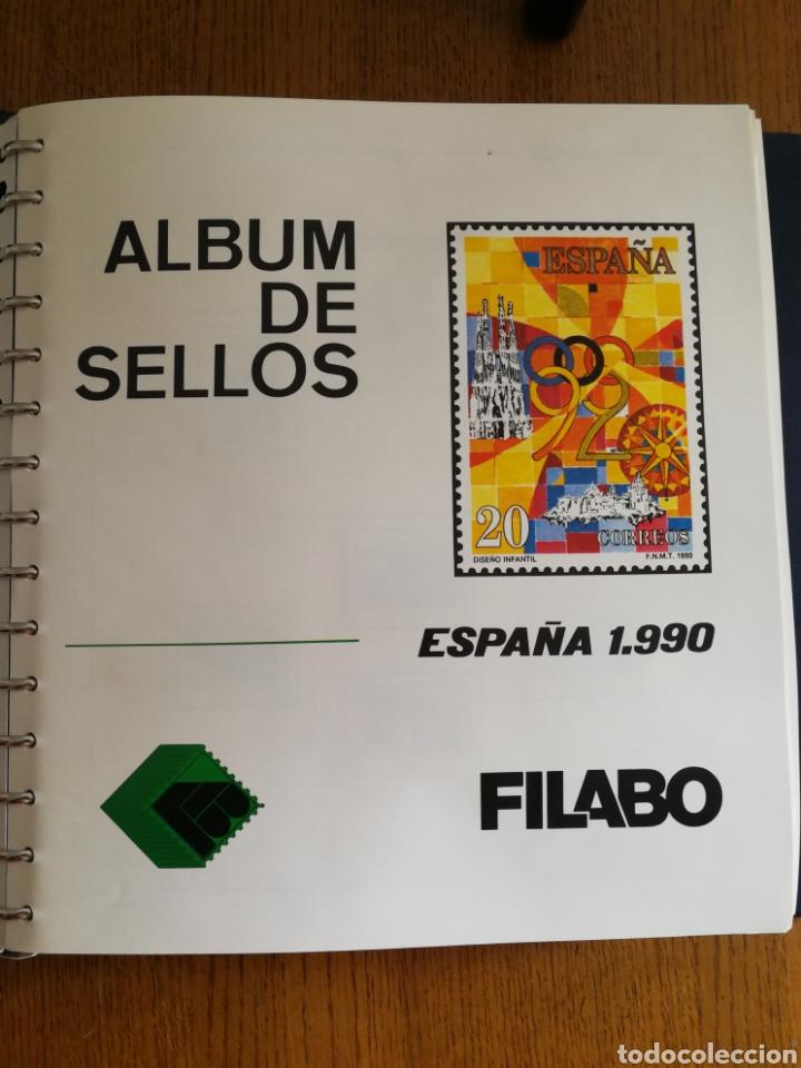 MATERIAL FILATELICO : HOJAS FILABO AÑO 1990 (LEER DESCRIPCIÓN) (Sellos - Material Filatélico - Hojas)
