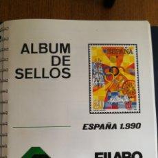 Sellos: MATERIAL FILATELICO : HOJAS FILABO AÑO 1990 (LEER DESCRIPCIÓN). Lote 175778569