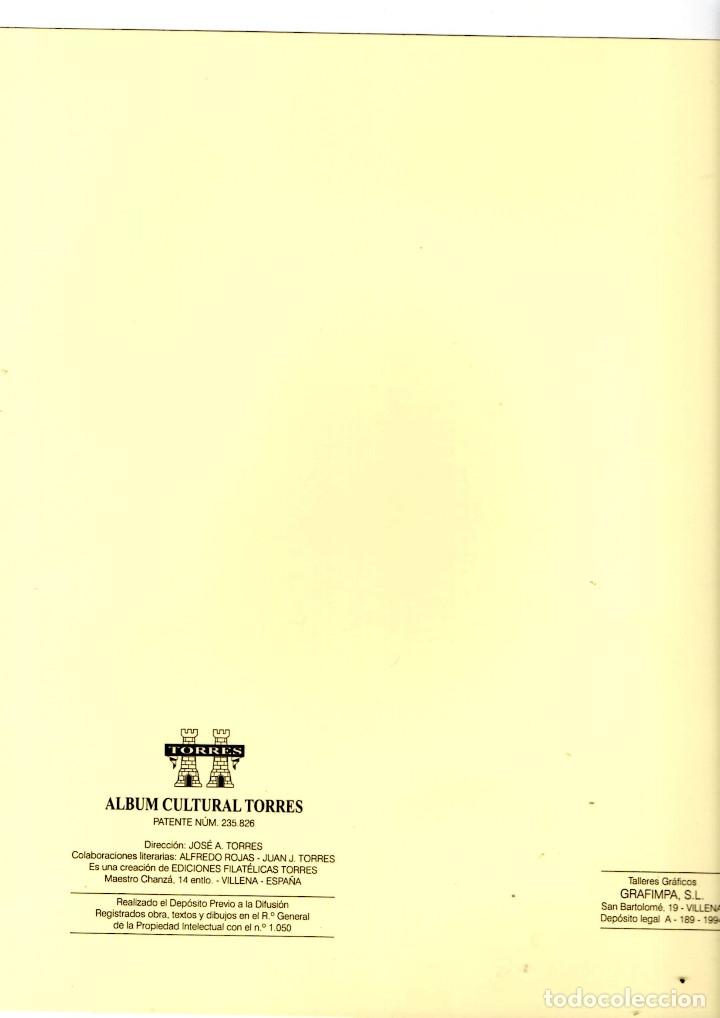 Sellos: 8 hojas varias de album TORRES - Foto 4 - 175871409