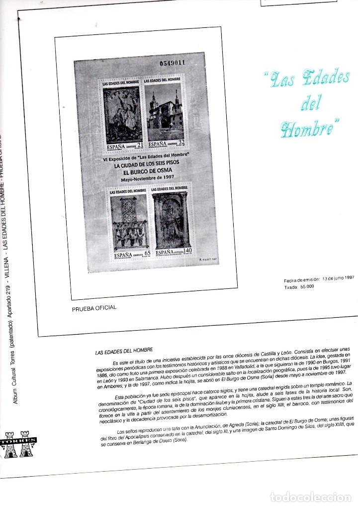 Sellos: 8 hojas varias de album TORRES - Foto 7 - 175871409