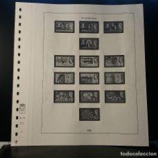 Selos: HOJA ALBUM LINDNER GRAN BRETAÑA 1964. SELLO PRE-IMPRESO BLANCO Y NEGRO. RESERVADO. Lote 177383098