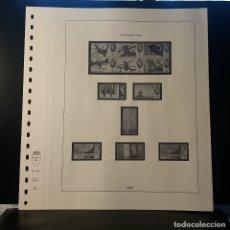 Selos: HOJA ALBUM LINDNER GRAN BRETAÑA 1965. SELLO PRE-IMPRESO BLANCO Y NEGRO. RESERVADO. Lote 177383209