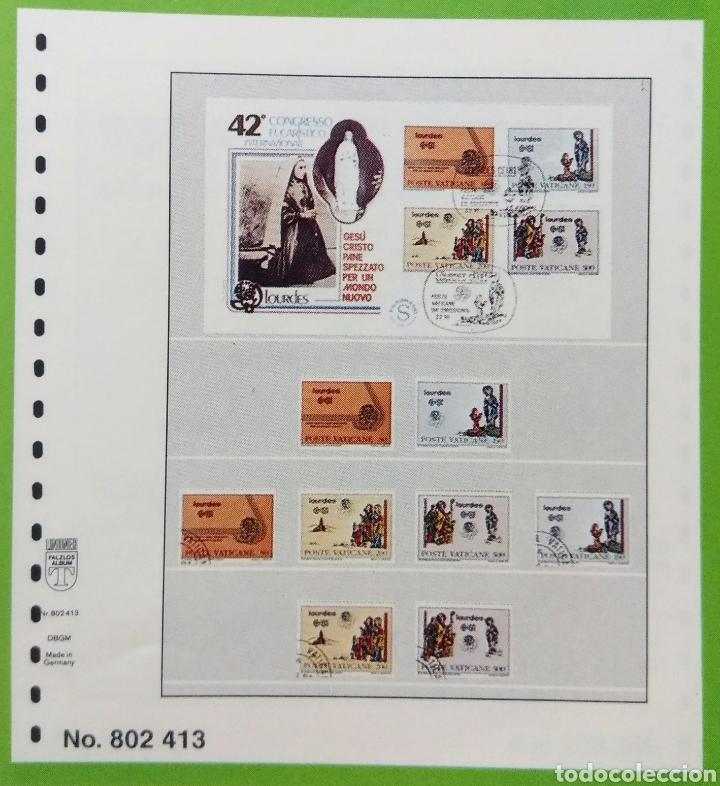 Sellos: 10 Páginas neutras para álbum Lindner. - Foto 3 - 206589851