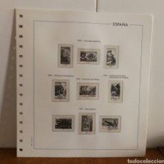 Sellos: HOJAS EDIFIL AÑO 1976 COMPLETO (FOTOGRAFÍA REAL). Lote 181446561