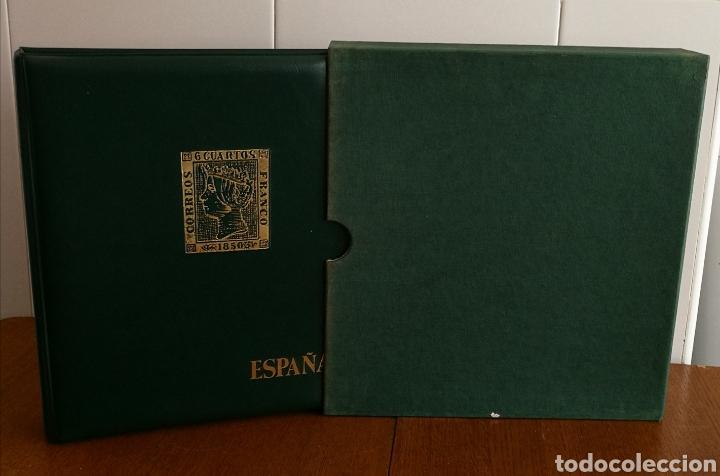 Sellos: ÁLBUM CON HOJAS EDIFIL AÑOS 1980/89 COMPLETO - Foto 2 - 184612480