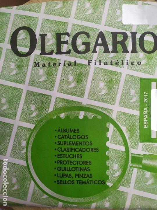 SUPLEMENTO OLEGARIO AÑO 2017 (Sellos - Material Filatélico - Hojas)