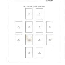 Francobolli: HOJAS ESPAÑA 1962 A 65 EDIFIL CON ESTUCHES. Lote 230565400