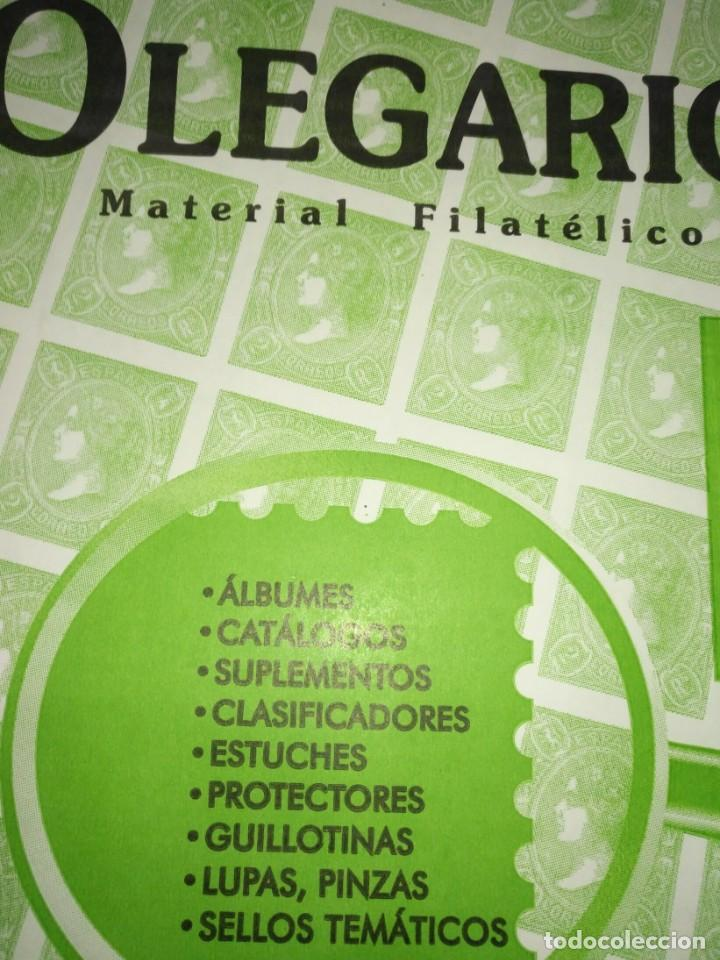 SUPLEMENTO SELLOS OLEGARIO ESPAÑA 2012/16 MONTADO CON FILOESTUCHES (Sellos - Material Filatélico - Hojas)
