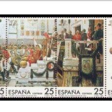 Sellos: 3 SERIES DE 175 ANIVERSARIO CONSTITUCIÓN 1812. Lote 194539788