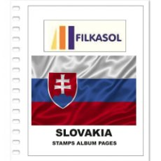 Sellos: SLOVAKIA STAMPS ALBUM PAGES 1993-2018 - PDF FILE PRINTABLE. Lote 195059321