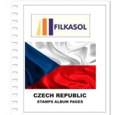 Sellos: CZECH REPUBLIC STAMPS ALBUM PAGES 1993-2018 - PDF FILE PRINTABLE. Lote 195059941