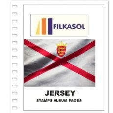 Sellos: JERSEY STAMPS ALBUM PAGES 1969-2018 - PDF FILE PRINTABLE. Lote 195059991