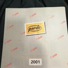 Sellos: SUPLEMENTO PARDO AÑO 2001 CON ESTUCHES. Lote 195243860