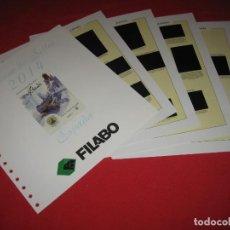 Sellos: SUPLEMENTO PARA SELLOS DE ESPAÑA DE FILABO 2014, CON ESTUCHES NEGROS. Lote 196379051