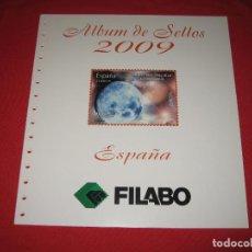 Sellos: SUPLEMENTO DE SELLOS DE ESPAÑA 2009 DE FILABO SIN ESTUCHES. Lote 196381726