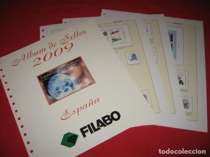 Sellos: SUPLEMENTO DE SELLOS DE ESPAÑA 2009 DE FILABO SIN ESTUCHES - Foto 2 - 196381726