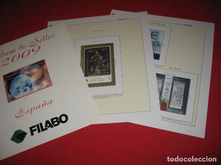 Sellos: SUPLEMENTO DE SELLOS DE ESPAÑA 2009 DE FILABO SIN ESTUCHES - Foto 3 - 196381726
