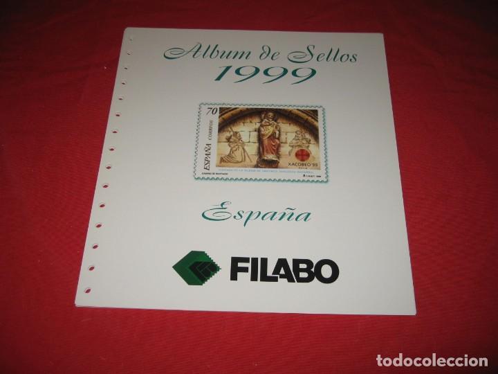 SUPLEMENTO PARA SELLOS DE ESPAÑA 1999, DE FILABO SIN ESTUCHES (Sellos - Material Filatélico - Hojas)