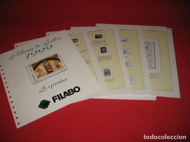 Sellos: SUPLEMENTO PARA SELLOS DE ESPAÑA 1999, DE FILABO SIN ESTUCHES - Foto 2 - 196383015